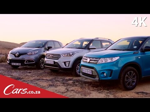 Hyundai Creta vs Suzuki Vitara vs Renault Captur - Crossover Comparison