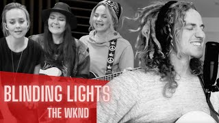 Blinding Lights 💡 The Weeknd cover by Germein & HUX (Sister Sessions)