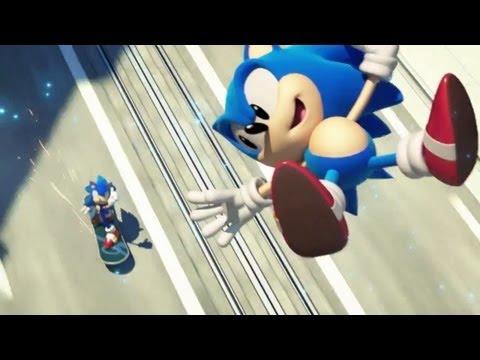Прохождение Sonic Generations - Часть 1. Green Hill Zone