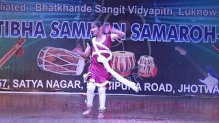 Khatak Dance Performed by Student of Jaipur Sangeet Mahavidyalaya j