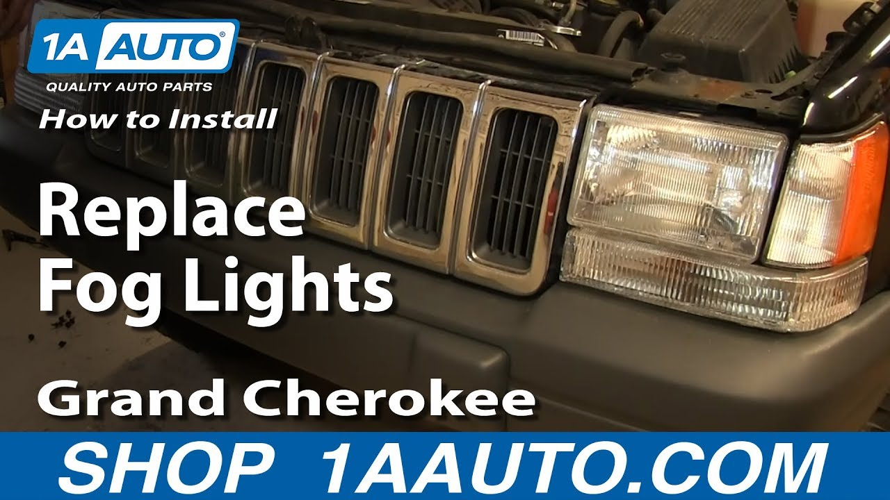 maxresdefault how to install replace fog lights 1997 98 jeep grand cherokee fuse box diagram 1997 jeep grand cherokee laredo at bayanpartner.co