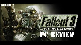 Fallout 3 Game Of The Year Edition PC review
