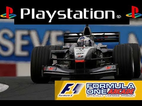 Formula One Arcade - PS1 - McLaren - David Coulthard - Monaco
