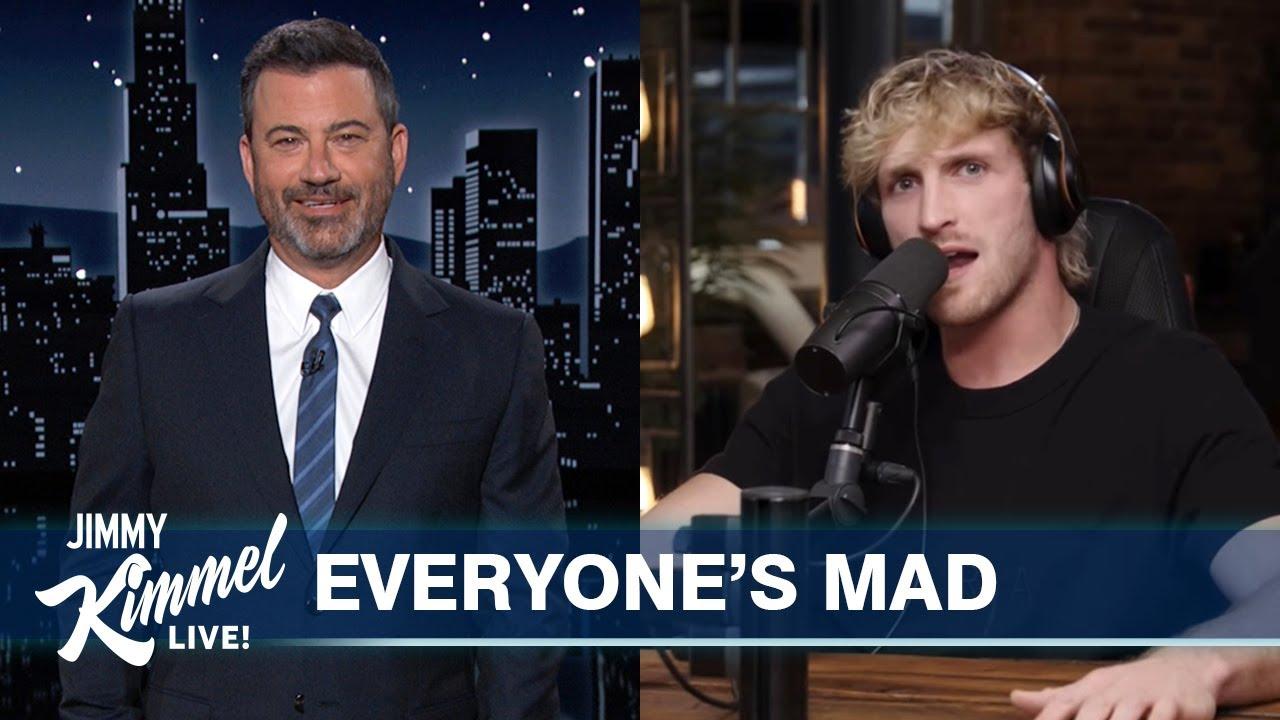 Download Logan Paul Fires Back at Jimmy Kimmel & Fox News Digs In Over Nicki Minaj Swollen Ball Drama