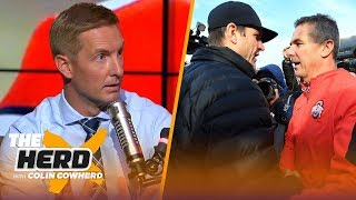 Joel Klatt and Colin analyze Michigan vs Ohio State, talk Brian Kelly's future | CFB | THE HERD