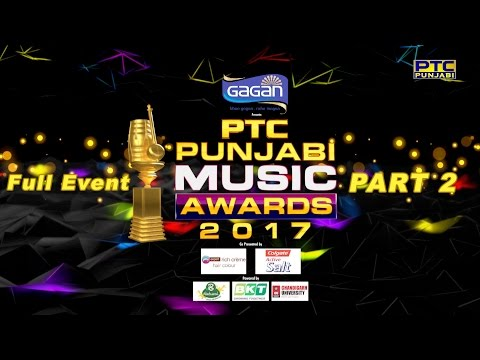 PTC Punjabi Music Awards 2017 | Part 2 | Full Event | PTC Punjabi