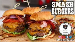 Smash Burgers on the Cuisinart 360° Griddle