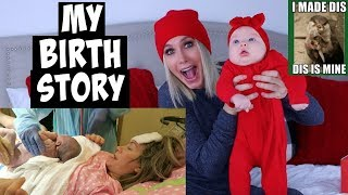 MY BIRTH STORY | CHANNON ROSE