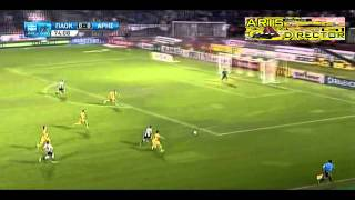 P.A.O.K. vs. Aris 0-1 (Superleague - 2010/2011)