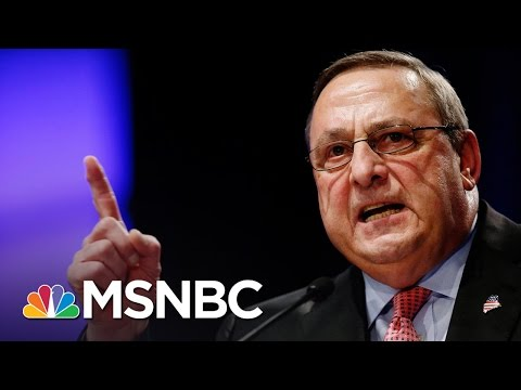 Paul LePage Scrambles As Republican Support Fades | Rachel Maddow | MSNBC
