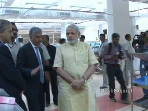 Narendra Modi inaugurates Narayana Hrudayalaya in Ahmedabad