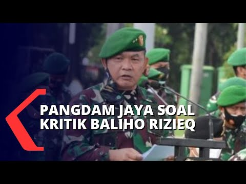 Copot Baliho Rizieq Shihab Dihadang FPI, Pangdam Jaya: Dia Ini Siapa, Organisasi Apa