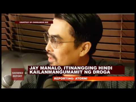 JAY MANALO, ITINANGGING TUMIKIM SIYA NG DROGA