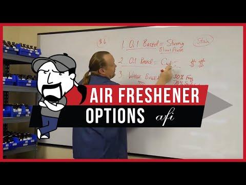 AIR FRESHENER OPTIONS