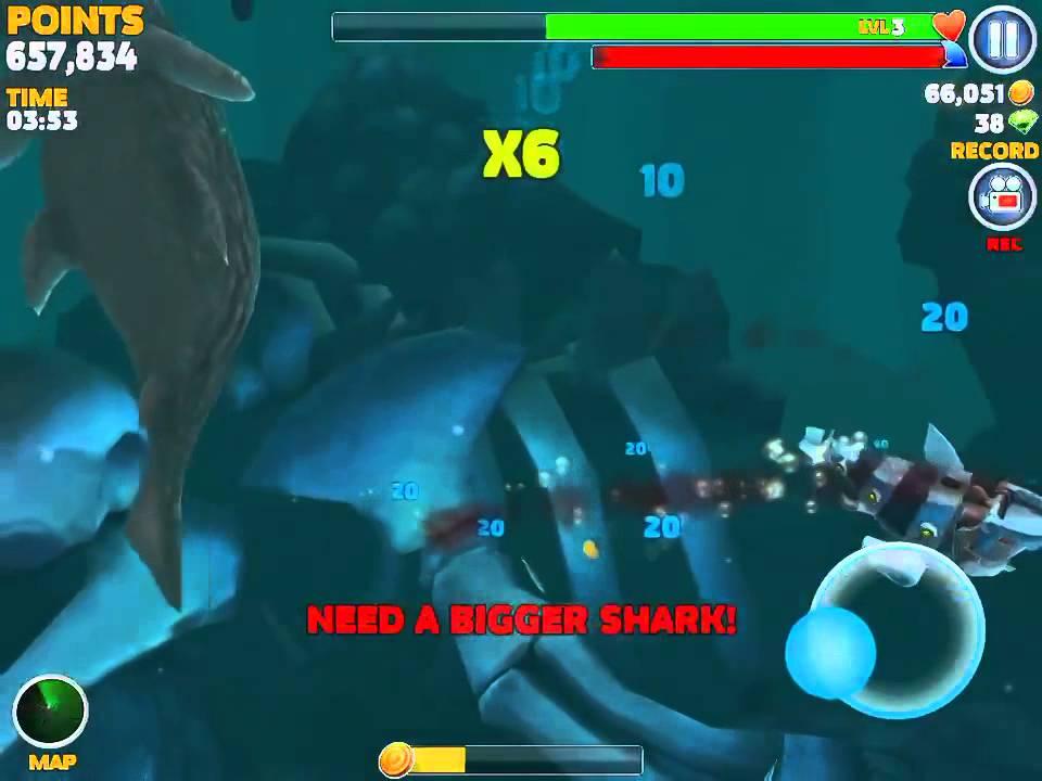 Robo Shark Vs Big Daddy Youtube
