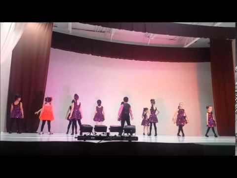 Kids Recital June 2015 - Latin Group #1 - Samba