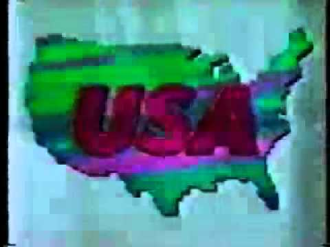 Old School USA Cable Network bumper early   90's
