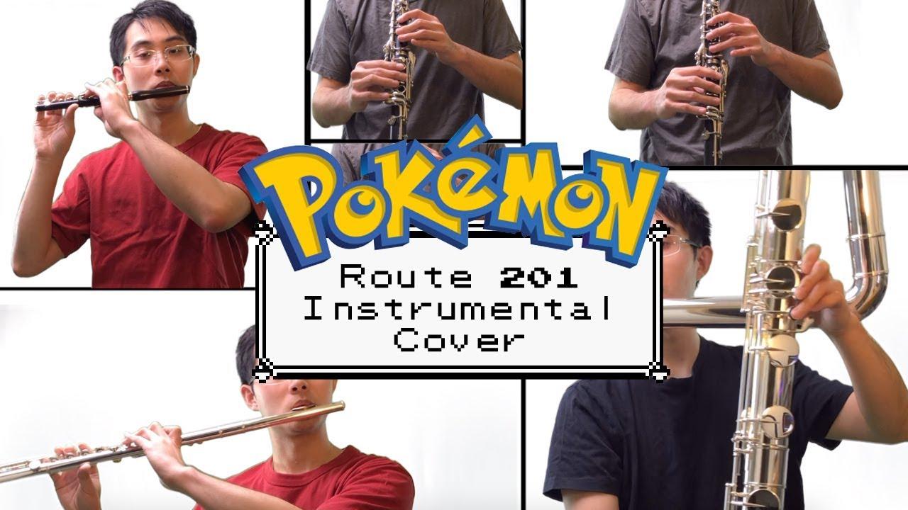寶可夢 Pokemon Route 201 | 樂器版 Instrumental Cover | 徐立瑄 Will Hsu