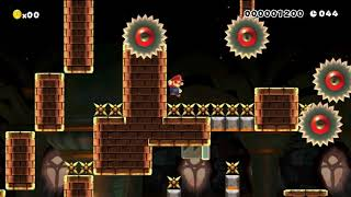 Master track - 80 sec speedrun: Beating Super Mario Maker's MASTER Levels?