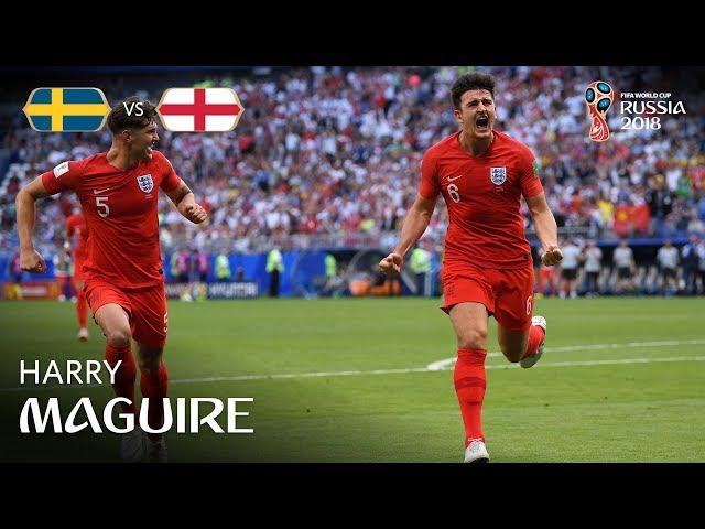 Harry MAGUIRE Goal - Sweden v England – MATCH 60