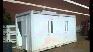 Container Homes China , Sandwich Panel Container Office Welding Container Office