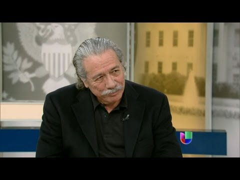 El actor, director y activista Edward James Olmos visita Al Punto