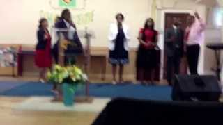 CAA, praise and worship Coventry- we lift him higher by sister awande