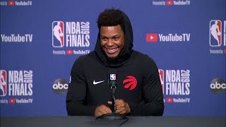 Kyle Lowry Full Interview - Game 1 Preview | 2019 NBA Finals Media Availability