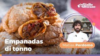 Ricetta Pasta Empanadas.Empanadas Di Tonno Ricetta Originale Dello Chef Matias Perdomo Youtube