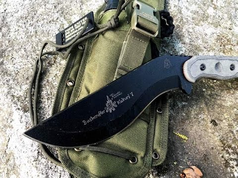 TOPS Knives Kukri and Survival Kit: Emergency Survival Kit When Lost