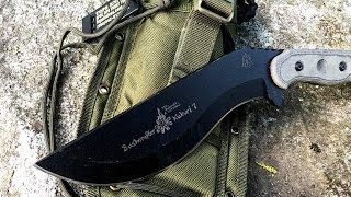 TOPS Knives Kukuri and Survival Kit: Emergency Survival Kit When Lost