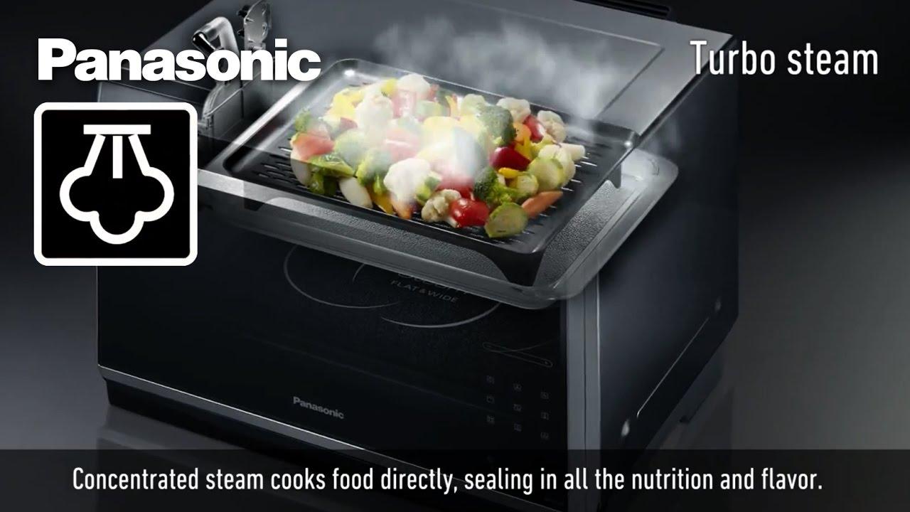 How Panasonic S New Steam Microwave Works Nn Cs894s