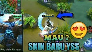 AKHIRNYA BISA NYOBAIN SKIN BARU YSS !! - MOBILE LEGEND INDONESIA