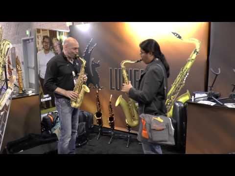 Musicisti al Namm 2015 - Lupifaro Sax