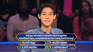Millionaire - Whiz Kid Math (Nov. 7, 2014)