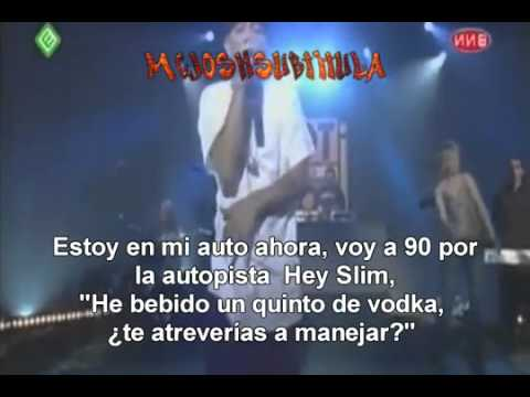 Eminem Ft Dido   Stan Live Subtitulada Al Español HQ   YouTube