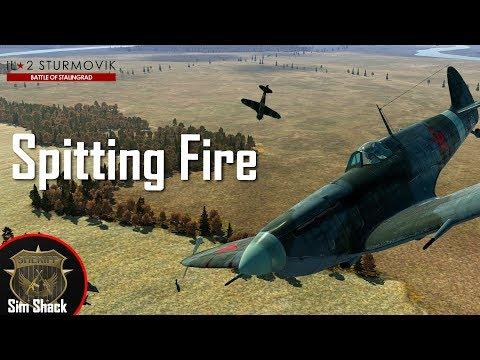 Spitting Fire - IL-2: Battle of Stalingrad