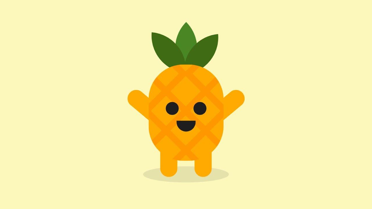 Pineapple Animation CSS   CSS Art   CSS Animation