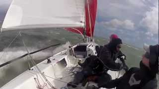 Extreme Sailing 20 knots on J80 - Yeehaaa!!!