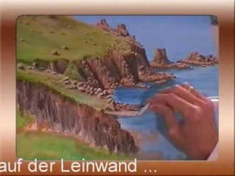 Steilk ste malen im zeitraffer youtube - Acrylmalerei ideen ...