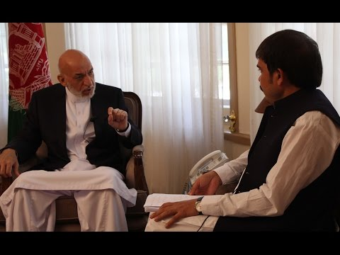 Historic interview with Hamid Karzai