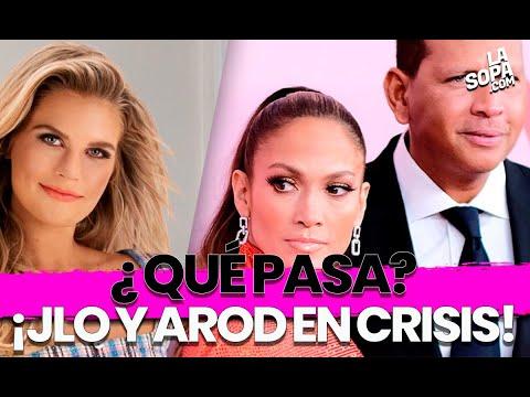 CONFUSA RUPTURA: ¿Qué pasa con la relación de Jennifer López y Alex Rodríguez?