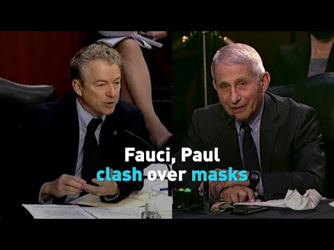 """Here we go again with the theater:"""" Fauci clashes with Rand Paul on Capitol Hill"""