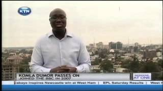 BBC journalist Komla Dumor passes on