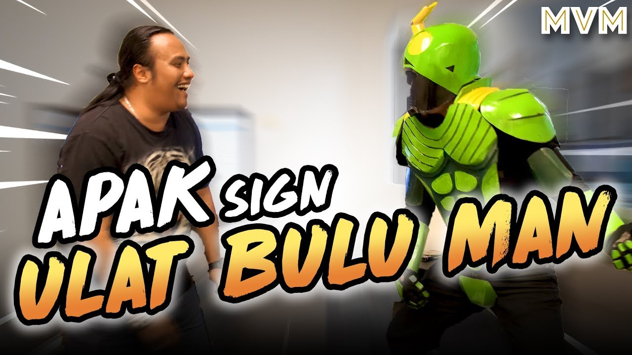 Apak & Ulat Bulu Man! Adiwira Gatal Sign Kontrak Bersama MVM!