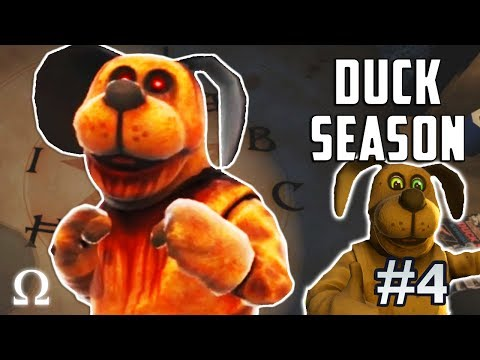 FINAL ENDINGS & HUGE SECRETS FOUND! | Duck Season #4 VR Full Playthrough Endings 6/7 (FIESTA / DOG)