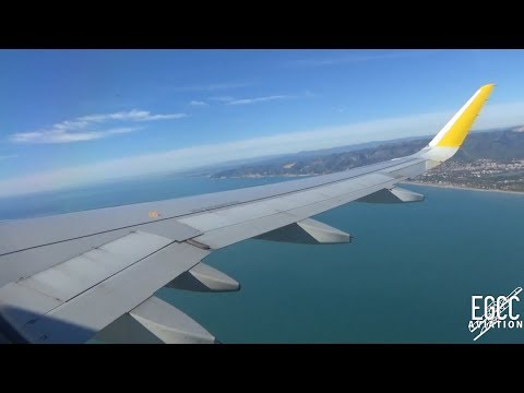 Vueling A320-200 Barcelona - Manchester Full Flight 03/11/18