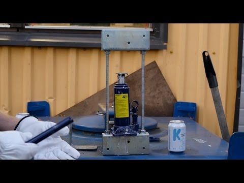 Diy 5 Ton Hydraulic Press Doovi
