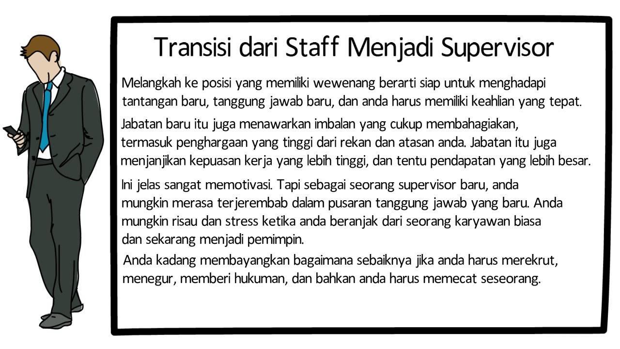 Menjadi Supervisor