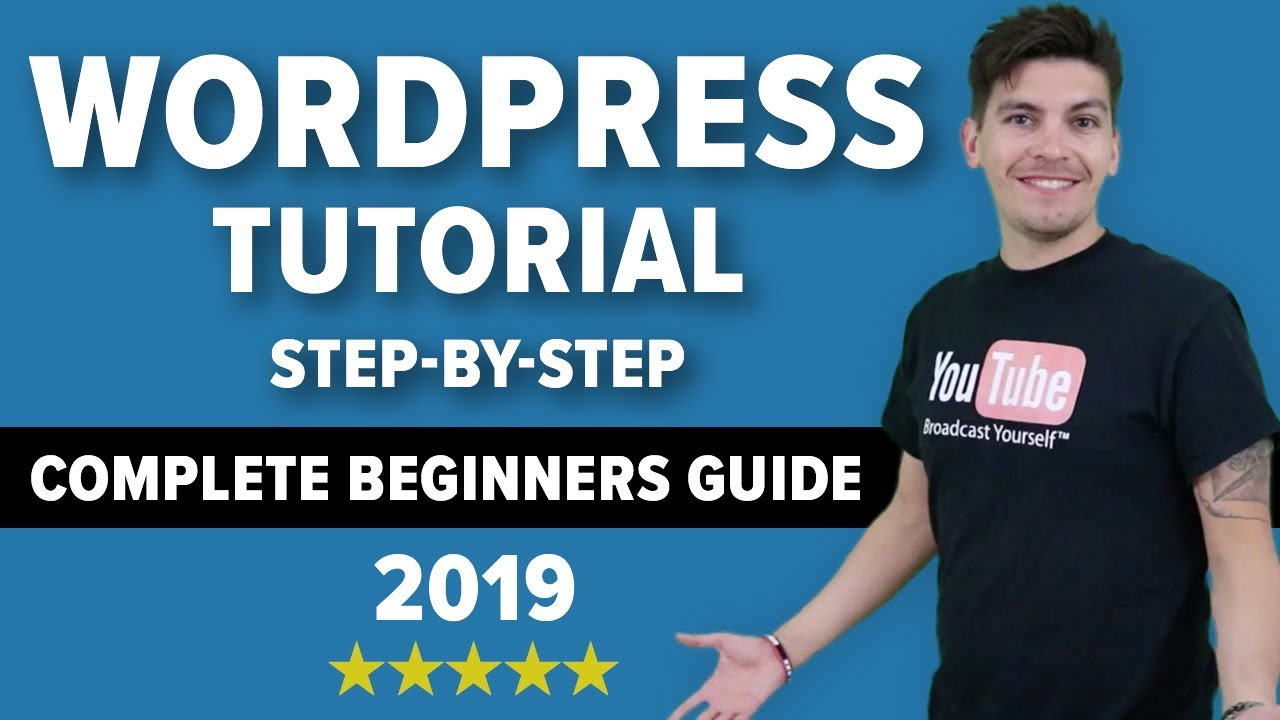 How To Make A Wordpress Website 2018 - EASY And FAST!